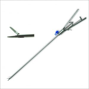 Laparoscopic Needle Holders 5mm diameter 33cm length Straight Jaws with Tungsten carbide inserts