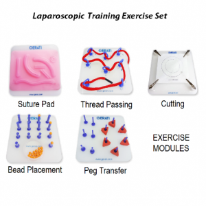 GERATI Laparoscopic Training Exercise Modules